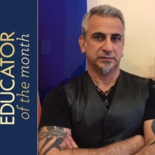 Meet Saro Azizian, February Educator of the Month
