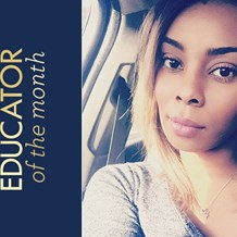 Meet Alexxis Taylor, November Educator of the Month