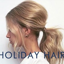 Spruce Up the Holidays With These Hairstyles for Clients
