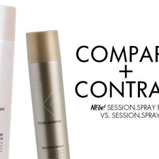Comparing SESSION.SPRAY with SESSION.SPRAY FLEX by KEVIN.MURPHY