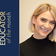 Meet Taylor Rae Wiggins, February Educator of the Month