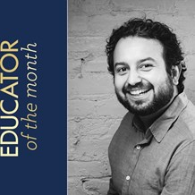 Meet Juan Alvarez, November Educator of the Month