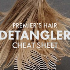 Our Hair Detangler Cheat Sheet at Premier Beauty